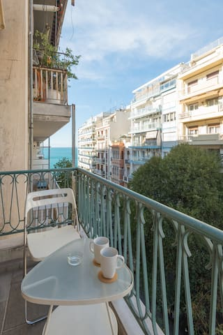 balcony with great view