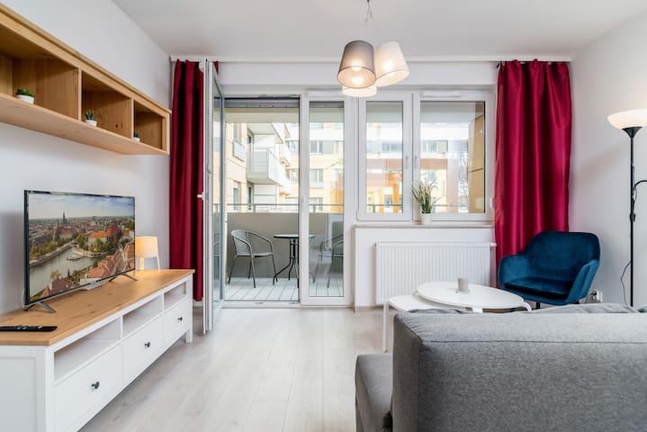 Luxurious Old Town Apartment ☆ Tęczowa 101