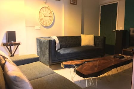 Greek inspired apartment Karachi