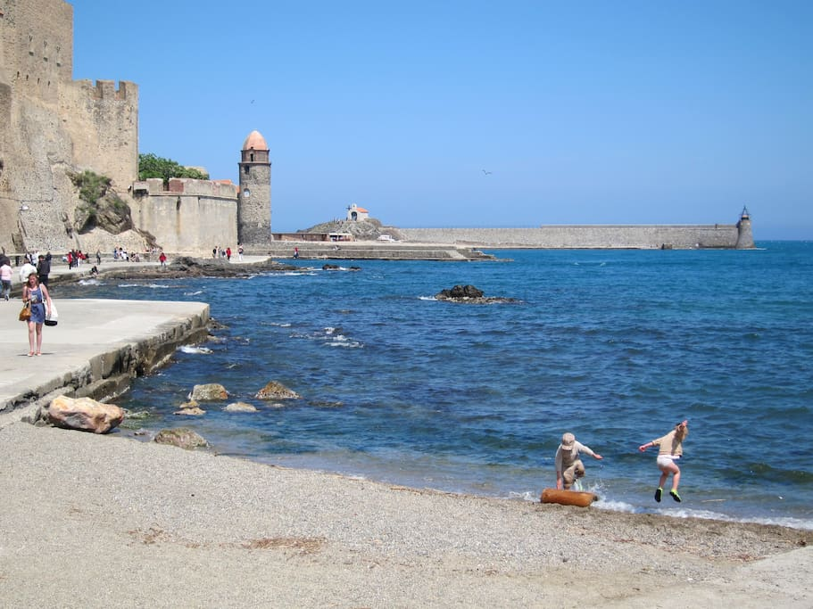 Adjacent to world heritage town, Collioure
