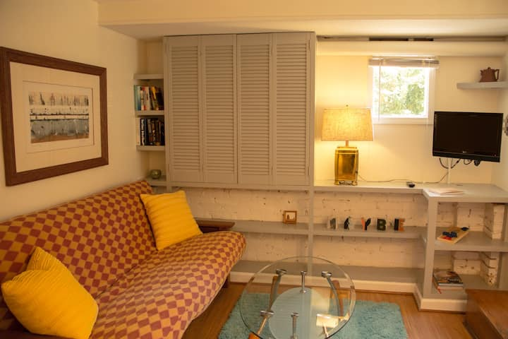 Cute and Cozy One BR Terrace Apt.