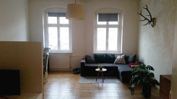 Hip Minimalist Room in the Heart of Friedrichshain