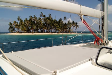 San Blas sailing trip aboard Cinco - Hajó