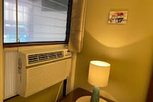 Each bedroom has it's own Air Conditioning Unit
