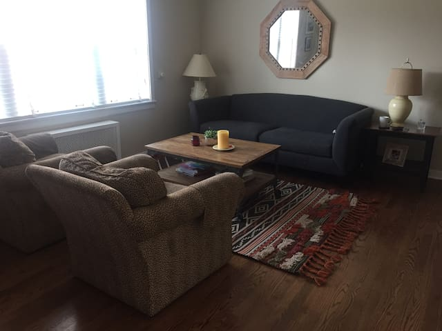Peaceful and Convenient Private Room in Evanston - Evanston - Apartmen