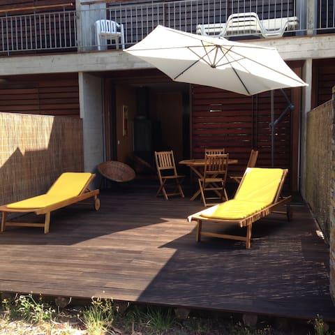 Villa in forest pine/beach/river