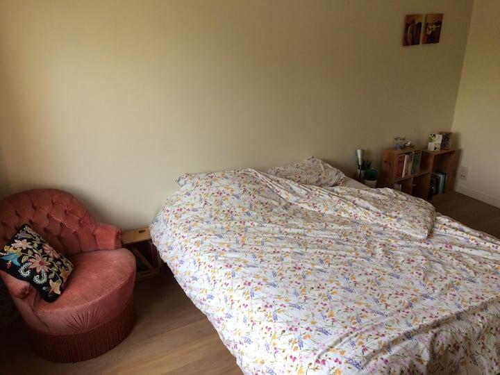 Gezellige kamer in gerenoveerd huisje.