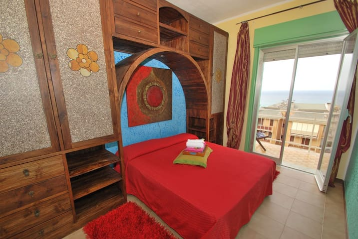 A quiet place- A wonderful sea view - Cefalù - Apartment