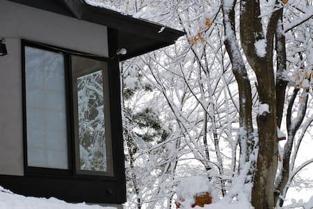 Kallin Cottage Hakuba, ski-in/out