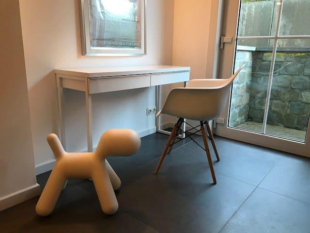 Erg rustig, modern appartement in Knokke-Heist.