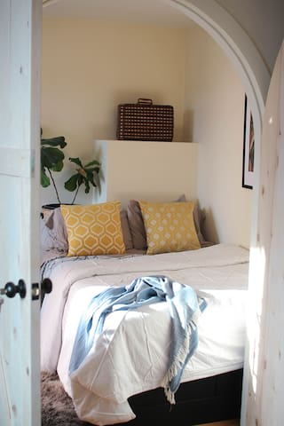 double size bed in your private room