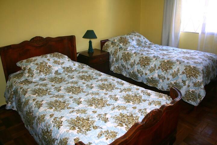 Cuarto ambiente familiar. - Santiago - Bed & Breakfast