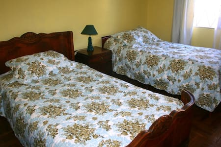 Cuarto ambiente familiar. - Santiago - Bed & Breakfast
