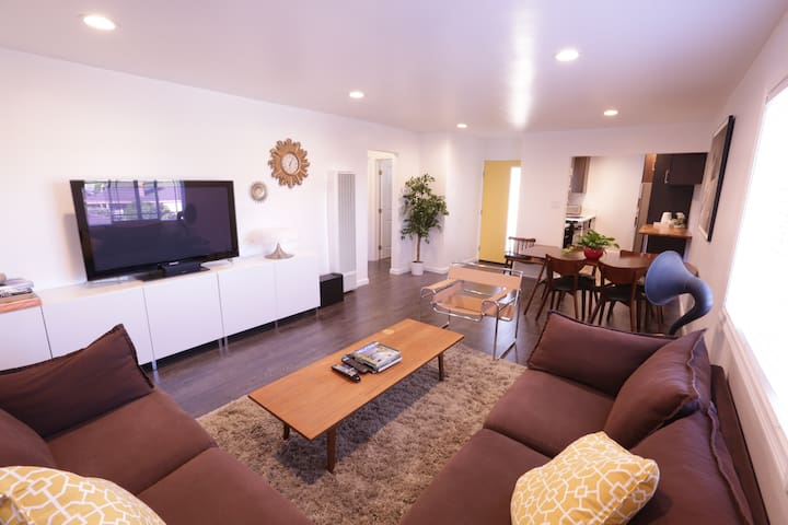 2 Bedroom Newly Remodeled Comfy Modern Apartment - Torrance - Apartemen