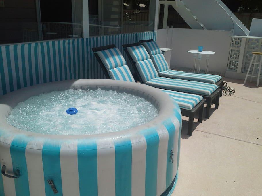 dedicated hot tub