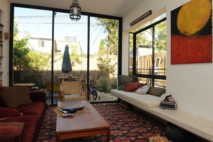 Garden home in central tel aviv