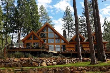 Lavender Log Home VRB0 - Forest Ranch