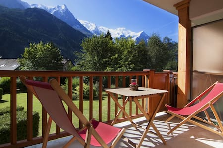 Lovely flat with view on the Mont Blanc