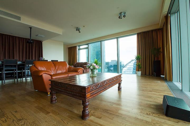 Apartment on 60 floor of Moscow-city! - Moskva - Loft