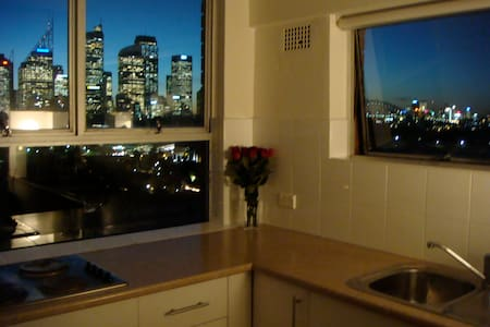 Superb studio with stunning views - Potts Point - Apartment
