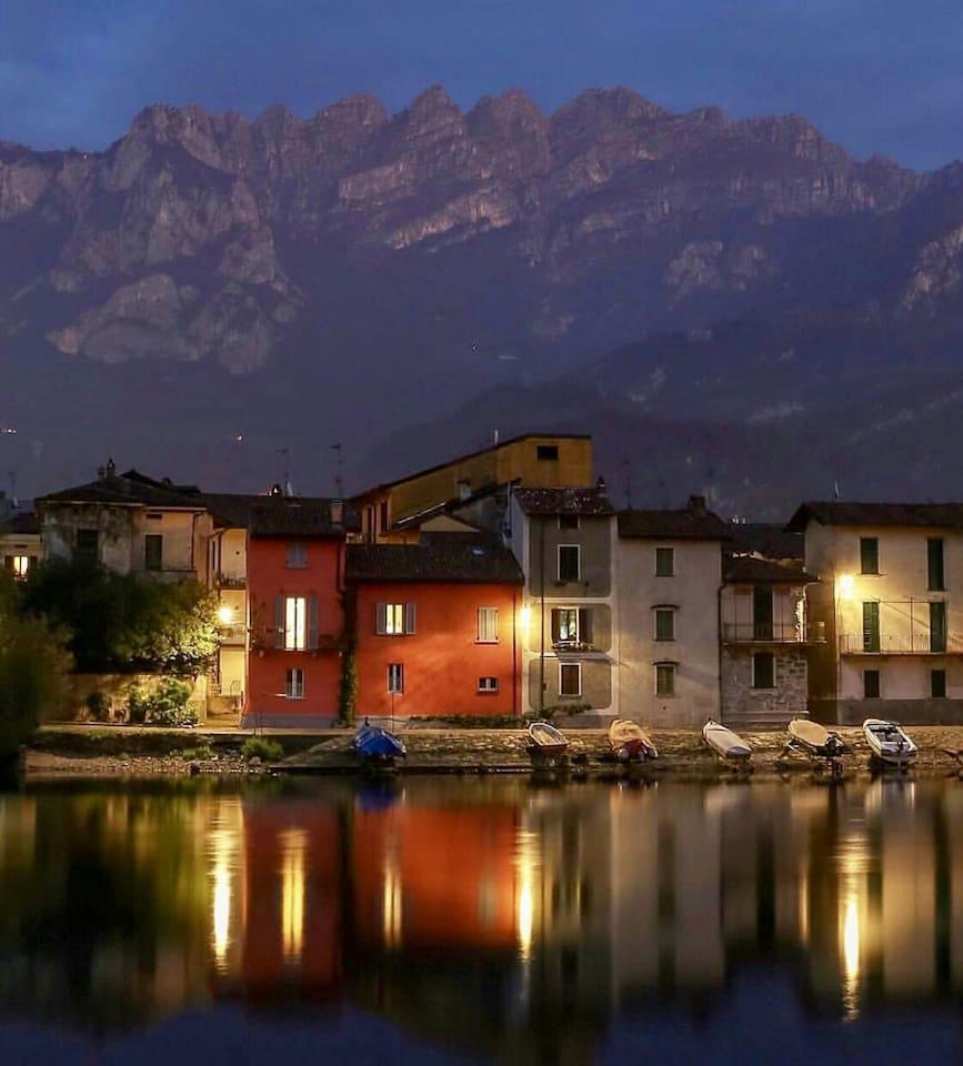 Splendido scorcio del quartiere Pescarenico-Lecco