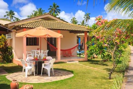 Chalés Maragogi: complet chalet 2bedrooms seafront