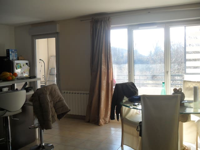 Closer to Geneva, quiet place with all amenities