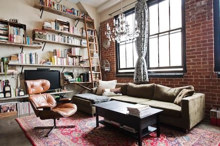 Amazing Bohemian loft in Mission - San Francisco - Apartment