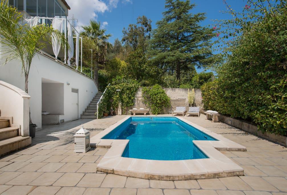 Villa con piscina sicily ville in affitto a falcone - Residence con piscina in sicilia ...
