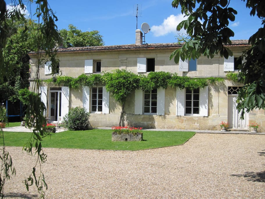Vine house bed and breakfast has three letting rooms and a self-catering apartment.