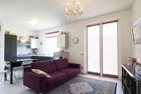 Lilac Apartment with sea view & mou - Cervo - Apartamento
