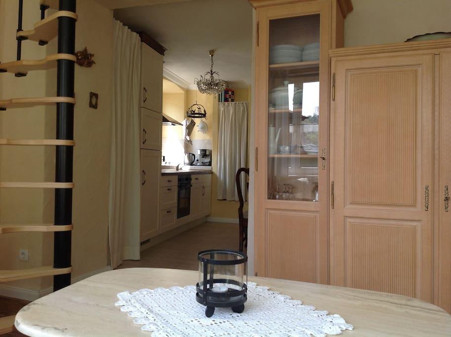 kleine ferienwohnung mit charm wohnungen zur miete in kyllburg rheinland pfalz deutschland. Black Bedroom Furniture Sets. Home Design Ideas