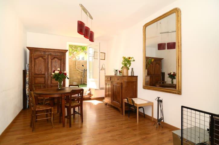 Character apartment near Aix - Venelles - Lejlighed