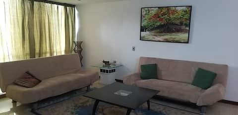 可爱的公寓,可欣赏加拉加斯的壮丽景色