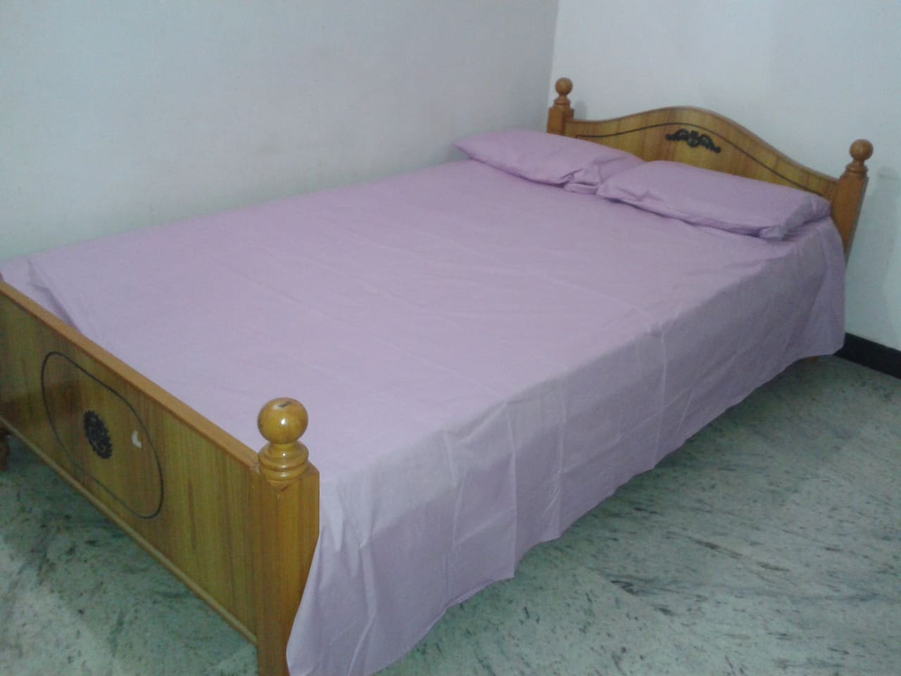 All set for peaceful sleep.. Clean and tidy (Representative image)
