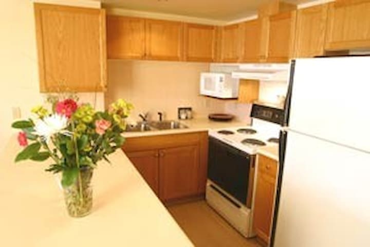 Kitchen with full amenities for the perfect meal!