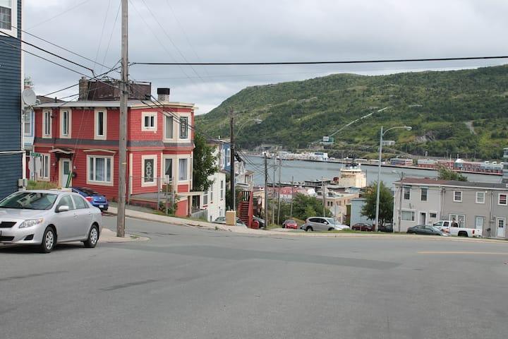 Distinctive Heritage Row House Downtown St. John's
