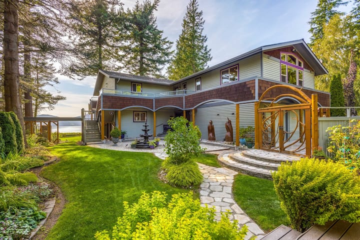 Custom Guemes Home w/ Spectacular Water Views!
