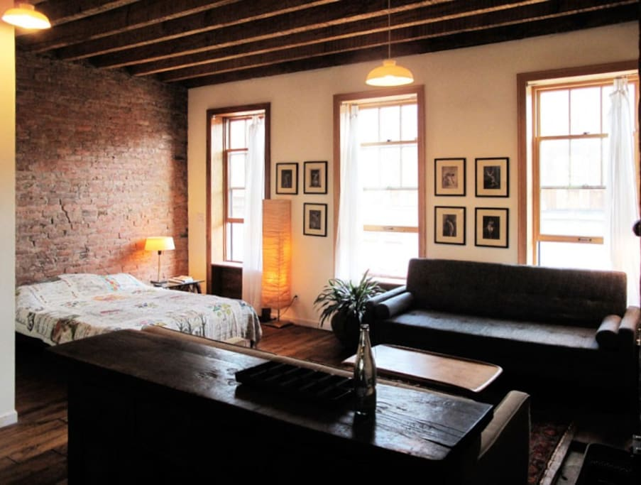 Greenpoint waterfront loft apartments for rent in - 1 bedroom apartments everything included ...