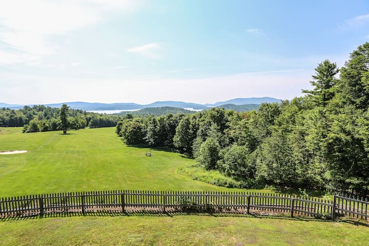 Year-Round Townhome with Lake Sunapee Views!