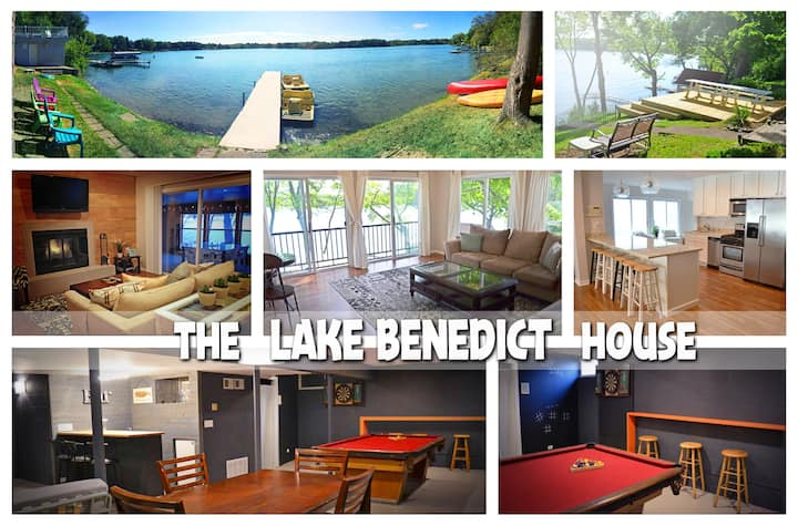 Lake Home with Open Concept and Tons of Amenities