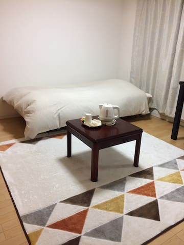 Clean private room in heart of Nara - 奈良市 - Apartamento