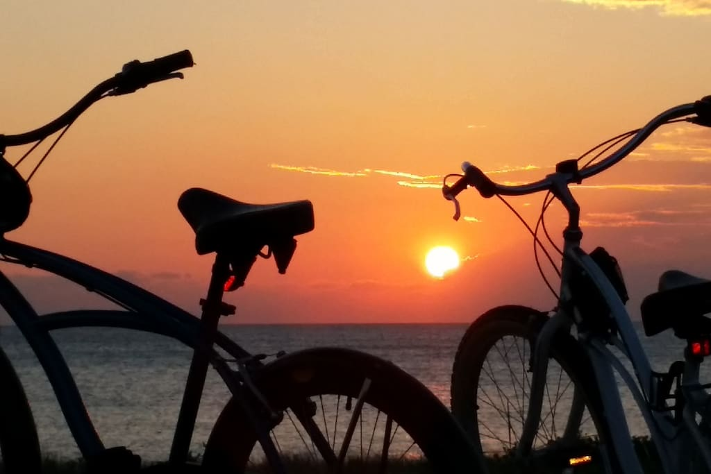 Bike Rides at Sunset