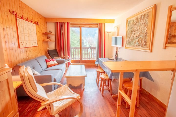 Bel appartement 5 pers. Meribel Centre