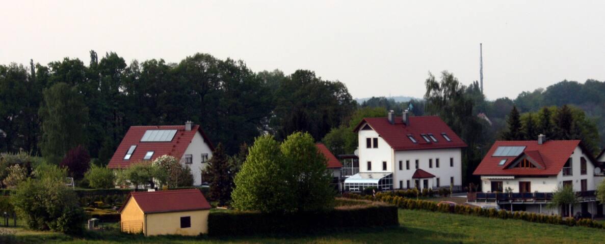 Ferienwohnung Berg-Blick - Obergurig - อพาร์ทเมนท์