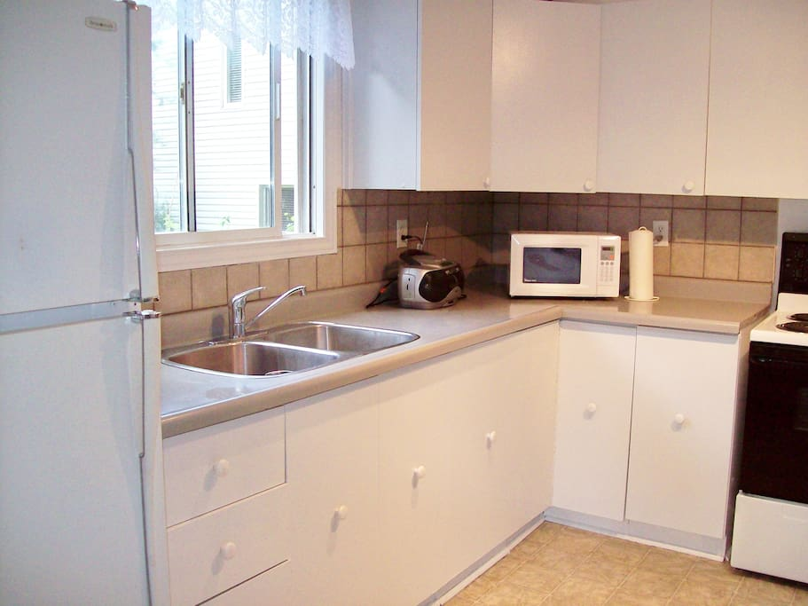 KITCHEN with Ample SPACE and STORAGE
