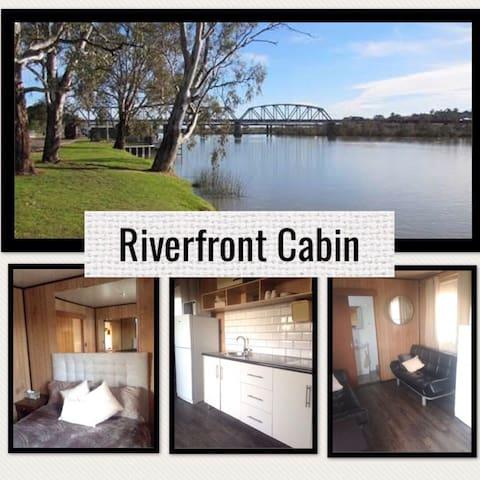 Riverview Cabin at  Murray Bridge.