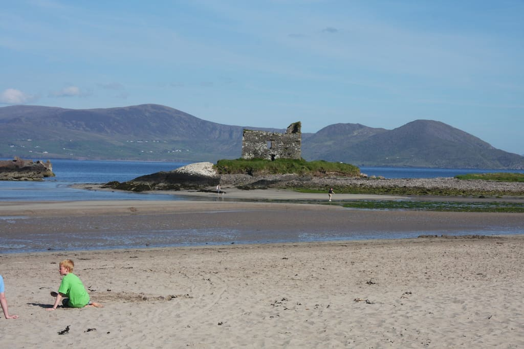our castle on the beach ,yours to explore