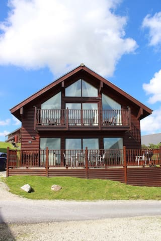Peaceful spacious modern lodge - St Columb Major - Casa