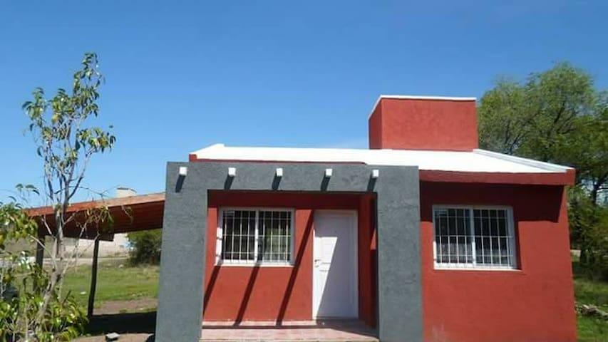 CABAÑA,ESPACIO VERDE ,AIRE  SERRANO - La Granja - Huis